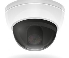 Realistic video surveillance vector material 02