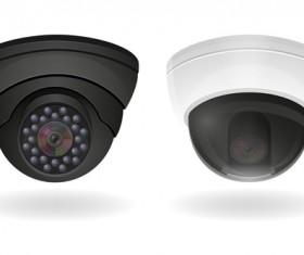 Realistic video surveillance vector material 03