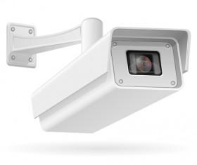 Realistic video surveillance vector material 05
