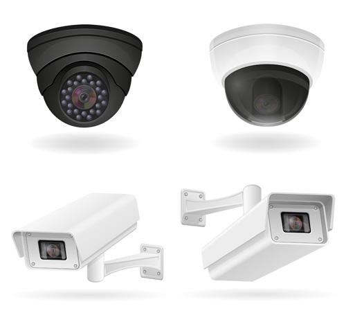 Realistic video surveillance vector material 07