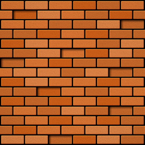 Red Brick Wall Backgrounds Vectors 02 Vector Background