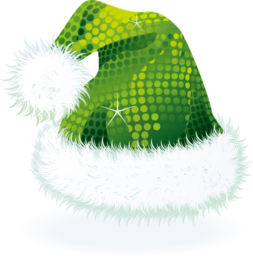 e8e5f091434f3 Vector 2016 christmas hat material set 04 free download