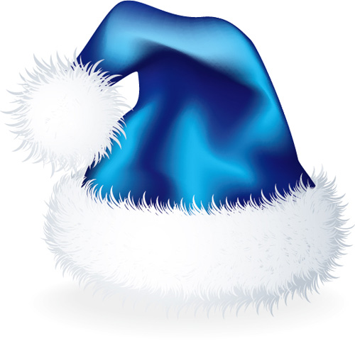 08d9739ae192f Vector 2016 christmas hat material set 08 free download