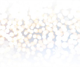 White light dot with blurs christmas background vector 01