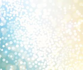 White light dot with blurs christmas background vector 05