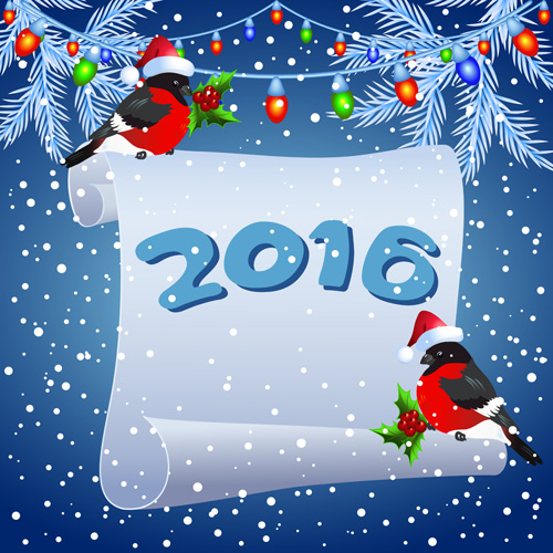 2016 christmas background with paper vector 02 free download a3b31a2d55