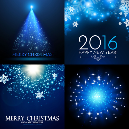 2016 christmas blue art background vector free download 36eedb27a5