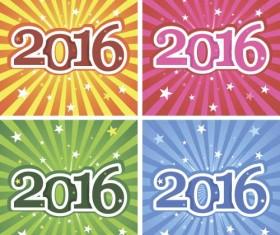 2016 holiday vectors design