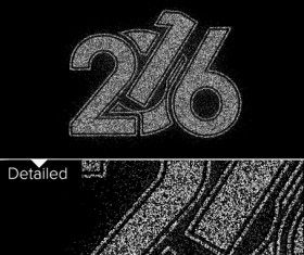 2016 new year design black  vector 09