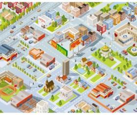 3D urban models vector material