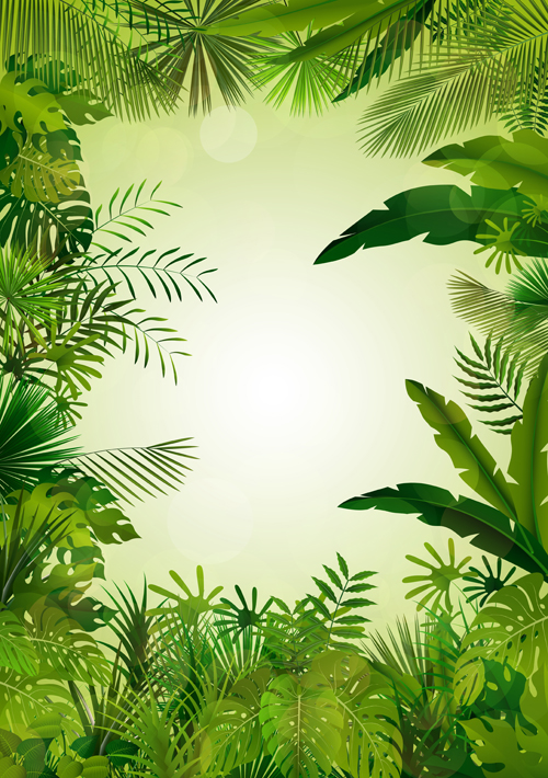 vector scenery tropical - photo #2