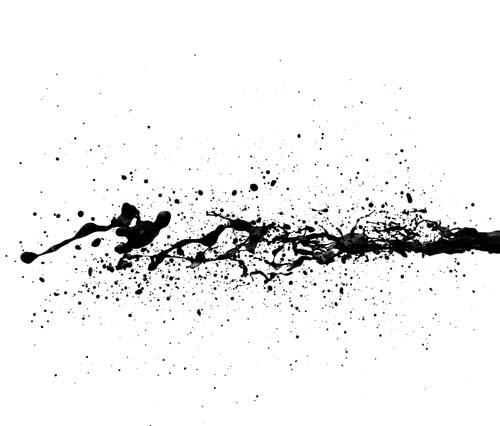 Black Ink Splash Photoshop Brushes Photoshop Brushes