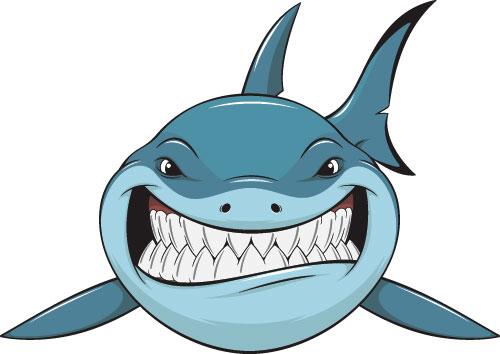 free animated shark clipart - photo #26