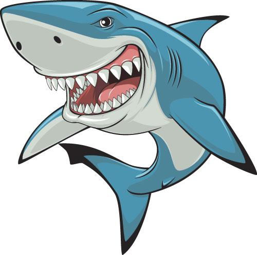 free animated shark clipart - photo #18