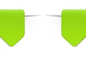Colored bookmarks design vectors set 06