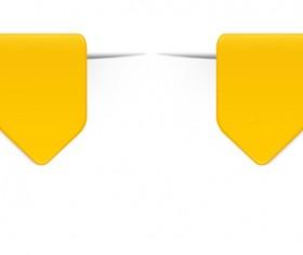 Colored bookmarks design vectors set 07