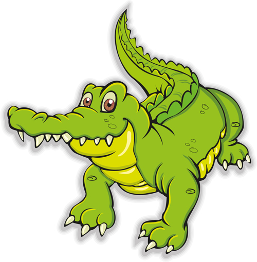 Cute crocodile cartoon styles vectors 03 free download - photo#34