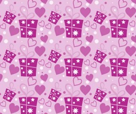 Love seamless pattern vector material 01