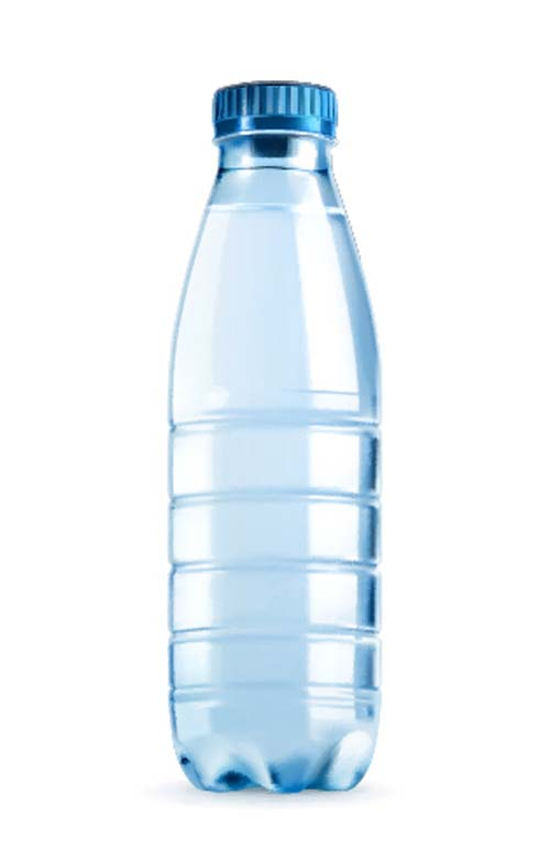 Mineral water with plastic bottle vector 01 free download for What to do with empty plastic bottles