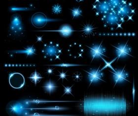 Modern light effects vector material