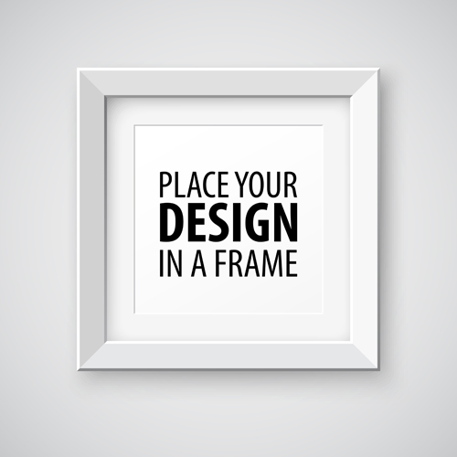 modern photo frame creative vectors material 05 - Modern Picture Frame