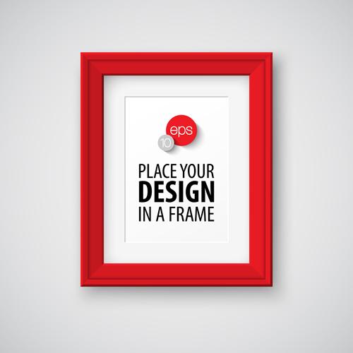 Modern Photo Frame Creative Vectors Material 11 Vector