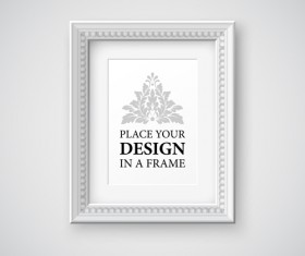Modern photo frame creative vectors material 12