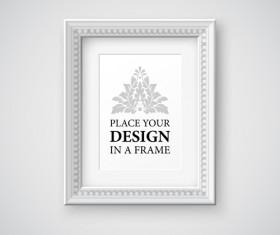 Modern photo frame creative vectors material 12