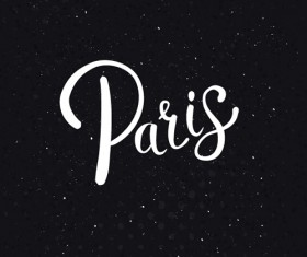 Paris design elements vectors set 05