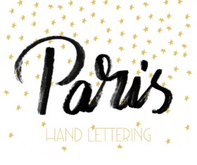 Paris design elements vectors set 06