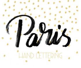 Paris design elements vectors set 06