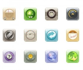 Rounded rectangle phone app PNG icon