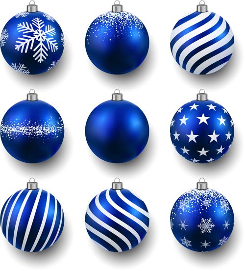 Shining Christmas Balls Design 02