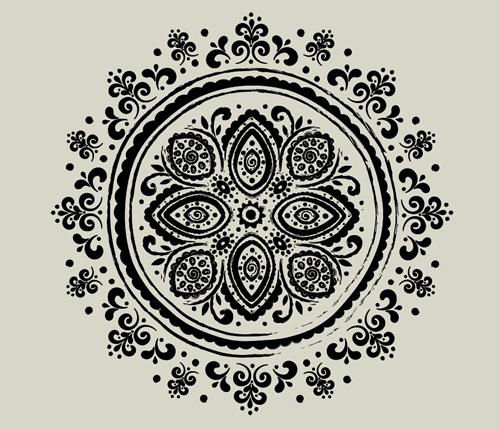 Vintage pattern photoshop brushes photoshop brushes free download