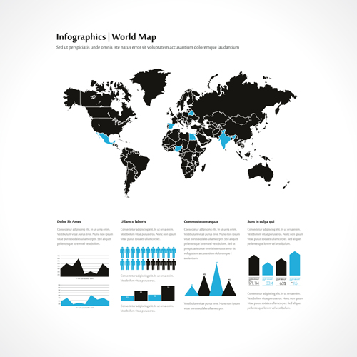World map with infographics creative vector 02 free download world map with infographics creative vector 02 gumiabroncs Choice Image
