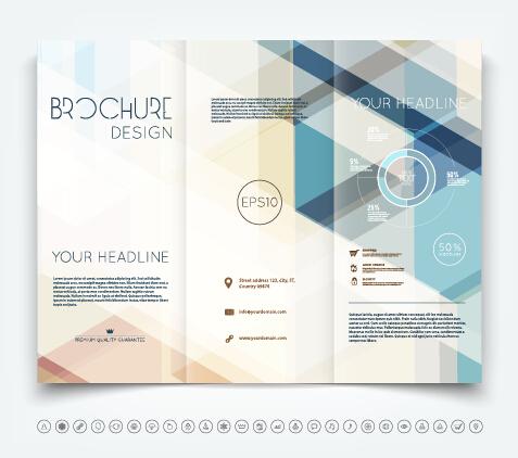 brochure design templates free download .