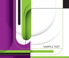 Business designed abstract shapes template vector 05