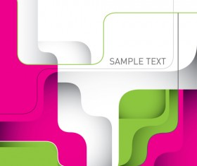 Business designed abstract shapes template vector 06