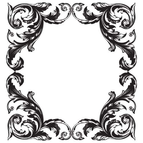 classical baroque style frame vector design 01 free download rh freedesignfile com vector frame clip art vector frames and borders