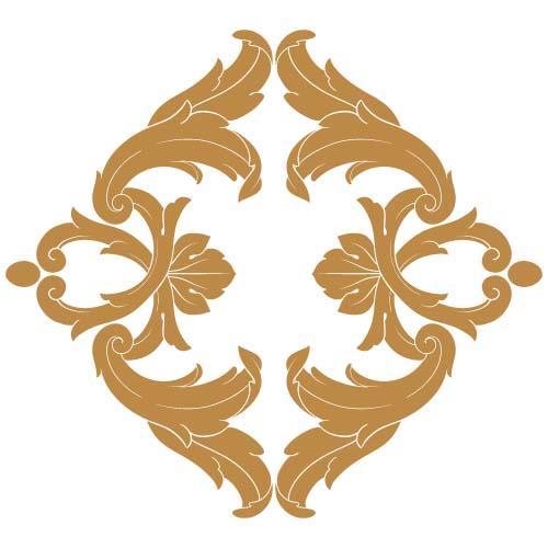 classical baroque style frame vector design 03 free download. Black Bedroom Furniture Sets. Home Design Ideas