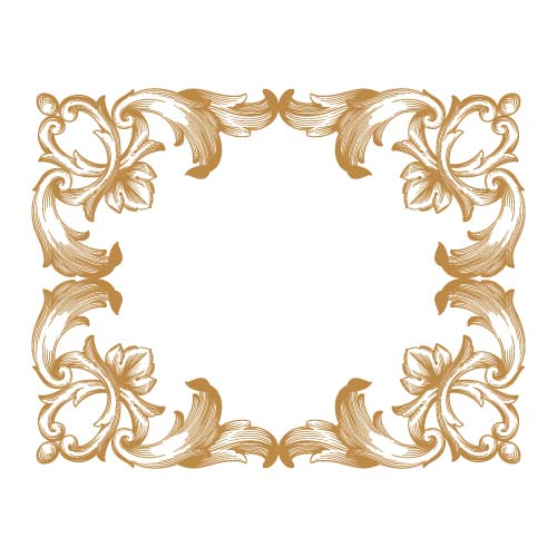 Pin vector of baroque portrait frames on pinterest for Baroque fashion design