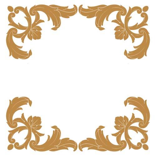 classical baroque style frame vector design 06 vector frames borders free download. Black Bedroom Furniture Sets. Home Design Ideas