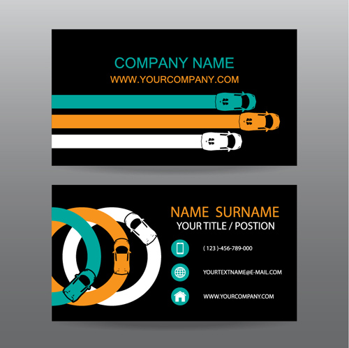 Creative car business cards vector 04 free download creative car business cards vector 04 colourmoves