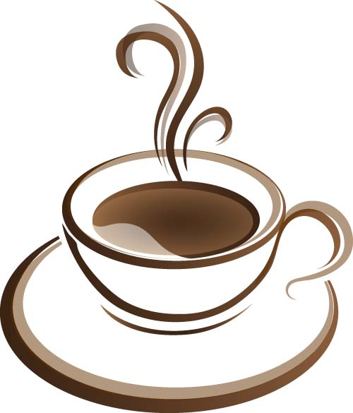 Cup with coffee abstract illustration vector 04 free download