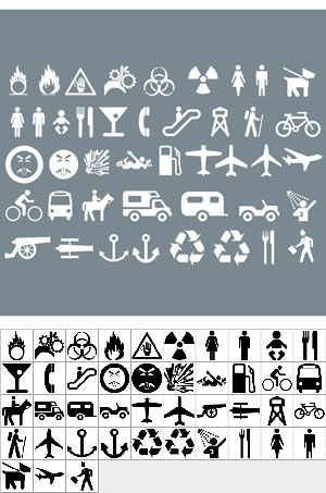 Different Signage Shapes set