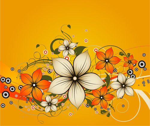 flower girl vector abstract - photo #4
