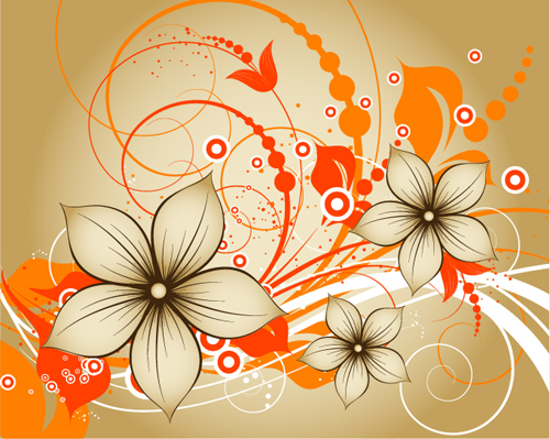 flower girl vector abstract - photo #42