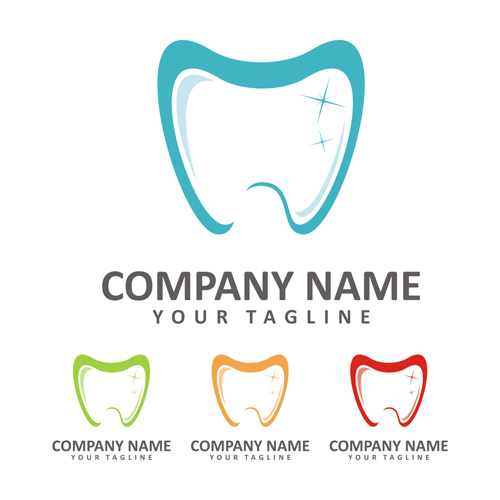 Funny Dentist Logo Vector 02 Free Download