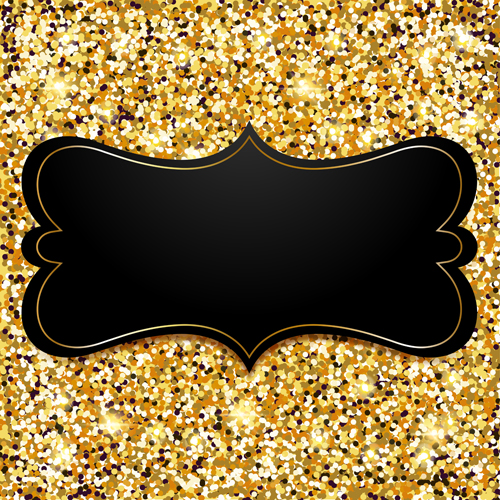 Free AI file Golden with black VIP invitation card background vector ...