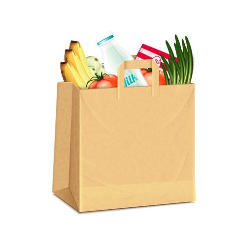 Grocery Bag Design Templates